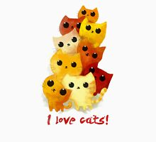 I love cute cats! Unisex T-Shirt