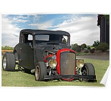 1935 Chevy Coupe 'With an Attitude' Poster