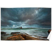 Black Rocks - Redgate Beach Poster