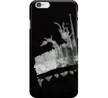 0028 - Brush and Ink - Field Play iPhone Case/Skin