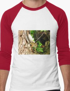 The Squirrel With The Flaxen Hair Men's Baseball ¾ T-Shirt