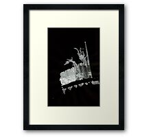 0028 - Brush and Ink - Field Play Framed Print