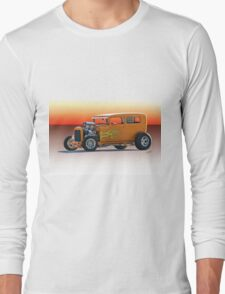 1928 Ford HiBoy Sedan Long Sleeve T-Shirt