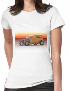 1928 Ford HiBoy Sedan Womens Fitted T-Shirt