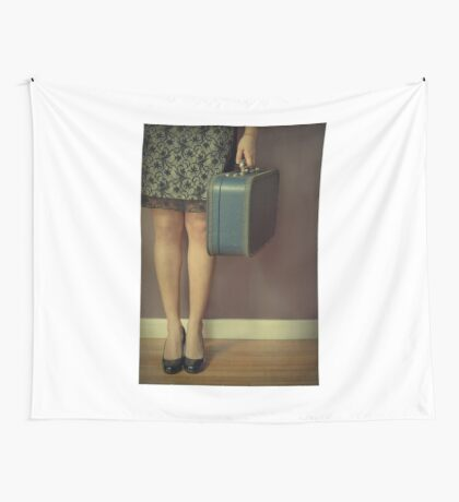 Never To Look Back Wall Tapestry