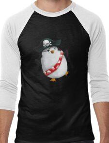Cute Pirate Penguin Men's Baseball ¾ T-Shirt