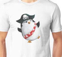 Cute Pirate Penguin Unisex T-Shirt
