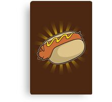 Hotdoggy Canvas Print