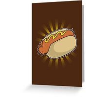 Hotdoggy Greeting Card