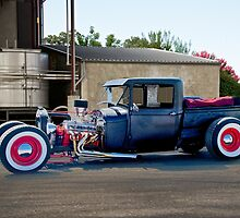1928 Ford Pickup 'Light Load Quick Delivery' by DaveKoontz