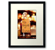 Healthy Alcohol? Framed Print