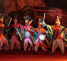 An Indian folk dance. by debjyotinayak