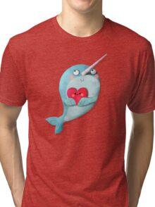 I love Narwhals Tri-blend T-Shirt