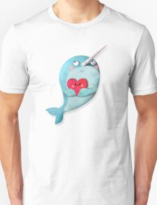 I love Narwhals Unisex T-Shirt