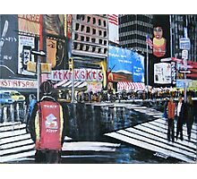 Broadway Shows, Manhattan, New York Photographic Print