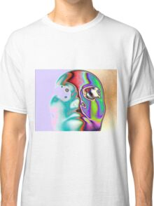 Abstract Face Classic T-Shirt