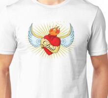 Old School Dad's Heart Unisex T-Shirt