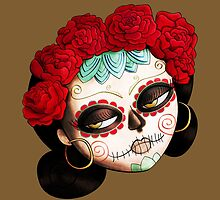 Dia de Los Muertos Beatiful Girl by colonelle
