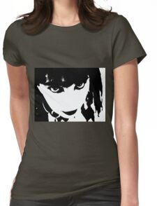 Abstract Face 4 Womens Fitted T-Shirt