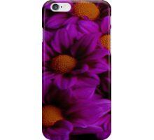 Bright Purple Flowers iPhone Case/Skin