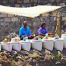 Street Spice Market in Nairobi, KENYA by Atanas NASKO