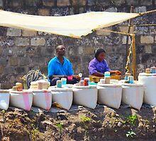 Street Spice Market in Nairobi, KENYA by Atanas Bozhikov Nasko