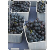 Red Grapes at the Montpellier Market iPad Case/Skin