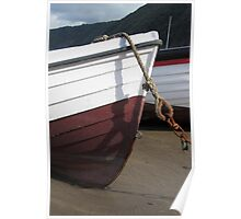 Old Boat, Clovelly Poster