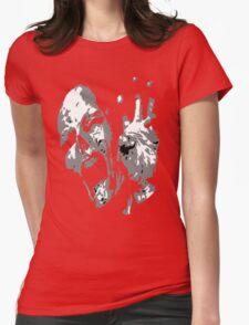 Mummy Scream Womens Fitted T-Shirt