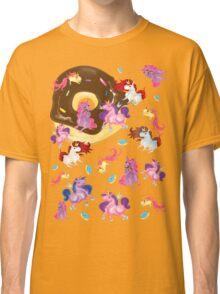 Fat unicorns and Donuts Classic T-Shirt