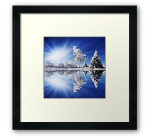 Cold Light Framed Print
