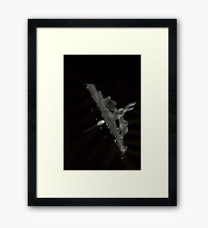 0029 - Brush and Ink - Human Glide Framed Print