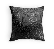 Seahorse World by Night Throw Pillow