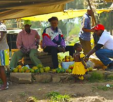 Street Market in Nairobi, KENYA by Atanas Bozhikov Nasko