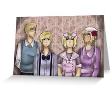 APH Dollhouse Greeting Card