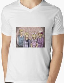 APH Dollhouse Mens V-Neck T-Shirt