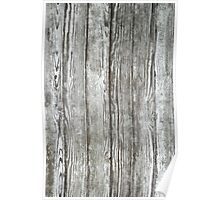 Wood old wall background Poster