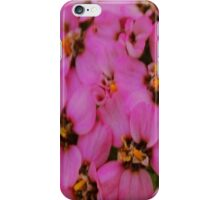 Pretty Purple Flowers iPhone Case/Skin