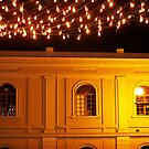 Christmas Lights in the Old City by Maria  Gonzalez