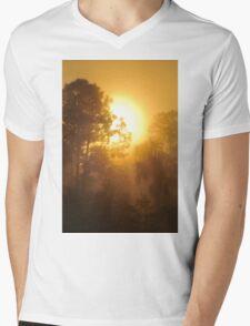 Monument Lake Sunrise, As Is Mens V-Neck T-Shirt