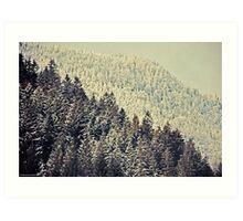 Winter composer Art Print