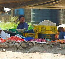 Family street market in Nairobi, KENYA by Atanas Bozhikov Nasko