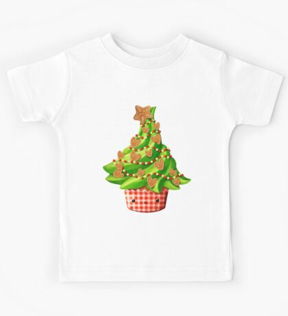 Cute Christmas Tree Kids Tee