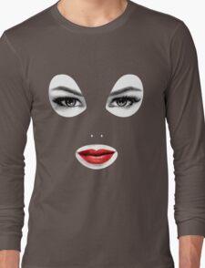 Latex Hood Long Sleeve T-Shirt