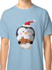 Cute Christmas Penguin Classic T-Shirt