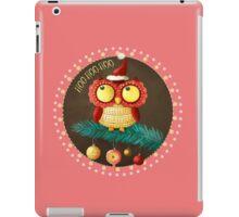 Little Christmas Owl iPad Case/Skin
