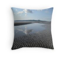 Portmarnock Beach ,co,dublin Throw Pillow