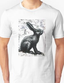 Giant Rabbit by ROA T-Shirt