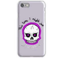 UNOFFICIAL Mystery Skulls Animated - Lewis (tribute) iPhone Case/Skin