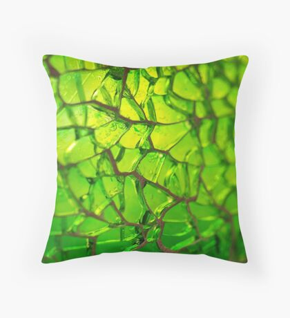 Glass Bokeh Throw Pillow